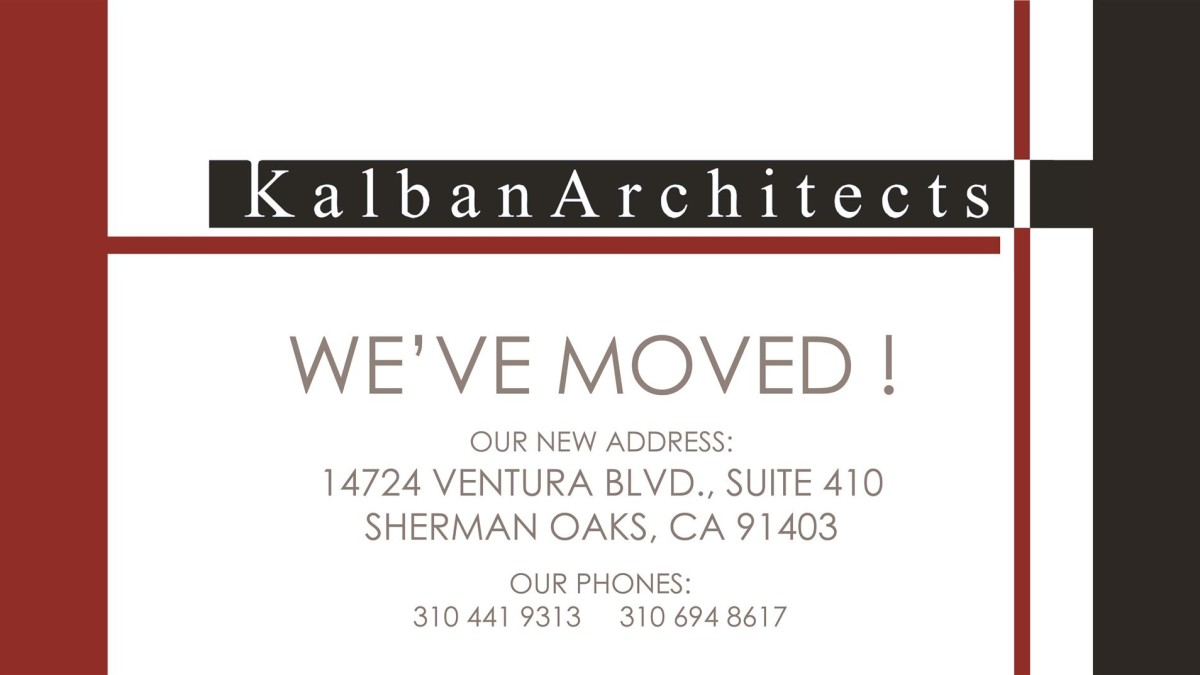 WE'VE MOVED !